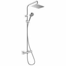 Hansgrohe - Vernis Shape Showerpipe 230 1Jet with Thermostat Chrome
