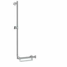 Hansgrohe - Unica Comfort Wall Bar 1100mm L White/Chrome