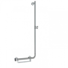 Hansgrohe - Unica Comfort Wall Bar 1100mm R White/Chrome