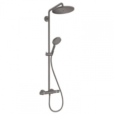 Hansgrohe - Croma Select S280 Showerpipe Handshower Rd S120 Brushed Black