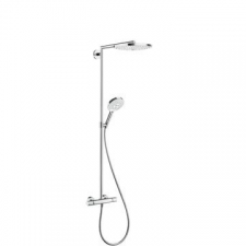 Hansgrohe - Hansgrohe - Raindance Select S 300 - Showers - Riser Pipes - White/Chrome