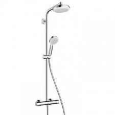 Hansgrohe - Crometta 100 Shower pipe White/Chrome