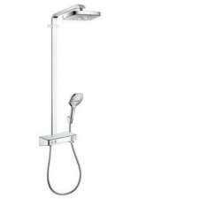 Hansgrohe - RD Select E 300 2Jet Showerpipe EcoSmart ST Chrome