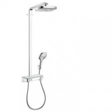 Hansgrohe - RD Select E 300 2Jet Showerpipe EcoSmart ST Chrome