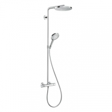 Hansgrohe - Raindance Select S Showerpipe 240 1Jet P with Thermostat Chrome