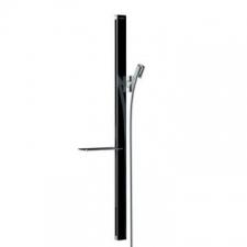 Hansgrohe - Unica E Wall Bar 900mm Black/Chrome