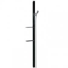 Hansgrohe - Unica E Wall Bar 150mm Black/Chrome