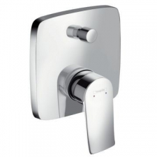 Hansgrohe - Metris Bath Mixer Concealed Finishing Set Chrome