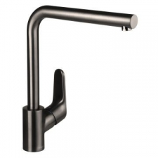 Hansgrohe - Decor Sink Mixer with Swivel Spout 280mm Brushed Black Chrome