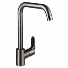 Hansgrohe - Decor Sink Mixer with Swivel Spout 260mm Brushed Black Chrome