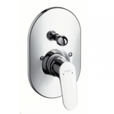 Hansgrohe - Decor Bath Mixer Finishing Set Chrome