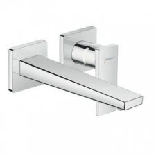Hansgrohe - Metropol Basin Mixer w/Lever Handle with Spout 225mm Wall-Mounted Chrome