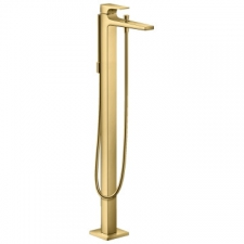 Hansgrohe - Hansgrohe - Metropol / 32532990 / Polished Gold Optic - Single Lever Freestanding Bath Mixer - Finishing Set