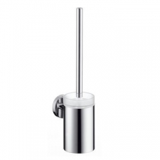 Hansgrohe - Logis Toilet Brush with Holder Brushed Nickel