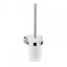 Hansgrohe - Logis Toilet Brush With Tumbler Wall-Mounted Chrome