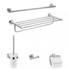 Hansgrohe - Logis Bath-Accessory Extended Set 5-in-1