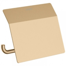 Hansgrohe - AddStoris Roll Holder with Cover Brushed Bronze