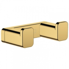 Hansgrohe - AddStoris Double Hook Polished Gold Optic