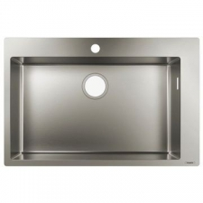 Hansgrohe - S711-F660 Built-In Sink 660 760x500mm Stainless Steel