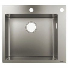 Hansgrohe - S712-F450 Build-In Sink 450 550x500mm Stainless Steel