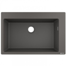Hansgrohe - S510-F660 Build-In Sink 660 SG Granite 770 x 510mm Stonegrey