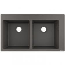 Hansgrohe - S510-F770 Build-In Sink 370 x 370 SG Granite 880 x 415mm Stonegrey