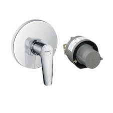 Hansgrohe - Logis E Shower Mixer Single Lever for Concealed Installation Chrome