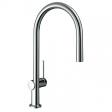 Hansgrohe - Talis M54 Single Lever Kitchen Mixer 210 Pull-Out Spout 1Jet Chrome