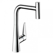 Hansgrohe - Talis Select S 300 K.Mixer Pull-Rod-Out Chrome