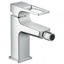 Hansgrohe - Hansgrohe - Metropol Loop / 74520000 / Chrome - Single Lever 1-Hole Bidet Mixer with Push-Open ( Clicker Waste ) Set