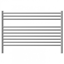 Jeeves - Classic K Straight Heated Towel Rail 1200x690mm Brushed Stainless Steel