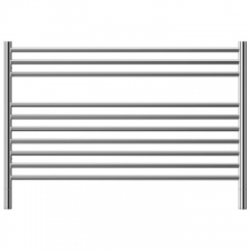 Jeeves - Classic K Straight Heated Towel Rail 1200x690mm Polished Stainless Steel