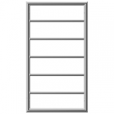 Jeeves - Spartan Boxx Electric Heated Towel Rail 520X930mm Polished Stainless Steel