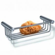 Zack - Civio Shower Basket 243 x 105 x 70mm Brushed Stainless Steel