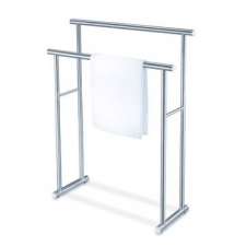 Zack - Finio Towel Rack 820 x 600 x 220mm Brushed Stainless Steel