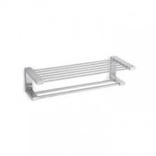 Zack - Fresco Towel Shelf 640 x 240 x 160mm Brushed Stainless Steel