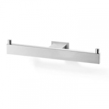 Zack - Linea Toilet Roll Holder Double Brushed Stainless Steel