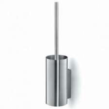 Zack - Linea Toilet Brush Holder Wall-Mounted 89x110x440mm Brushed Stainless Steel