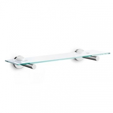 Zack - Scala Bathroom Shelf 60x500x120mm Polished Stainless Steel