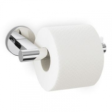 Zack - Scala Toilet Roll Holder Single Polished Stainless Steel