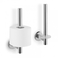 Zack - Scala Toilet Roll Holder Spare Polished Stainless Steel