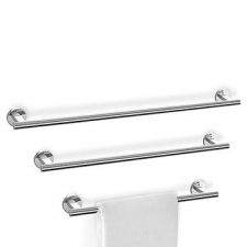 Zack - Scala Towel Rail Single Polished Stainless Steel