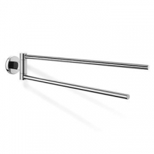 Zack - Scala Towel Rail Swivel Double Polished Stainless Steel