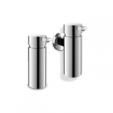 Zack - Scala Wall-Mounted Liquid Soap Dispenser Polished Stainless Steel