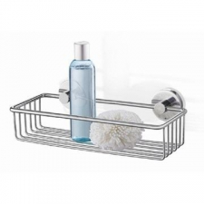 Zack - Scala Shower Basket Polished Stainless Steel