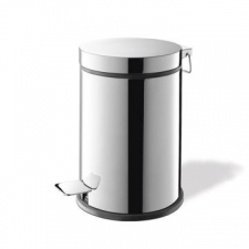 Zack - Vasca Pedal Bin 3L 180x270mm Polished Stainless Steel