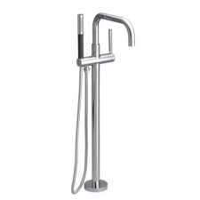 Kohler - Purist Single Control Freestanding Bath Filler Polished Chrome