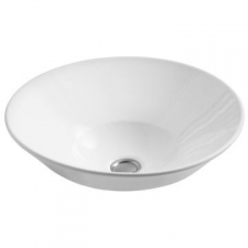 Kohler - Conical Bell Vessel Basin Without Mixer Hole 413 x 413mm White