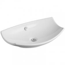 Kohler - Leaf Vessel Basin Without Mixer Hole 600 x 380mm White