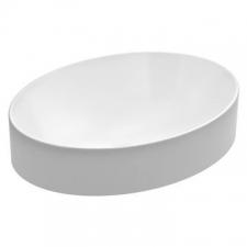 Kohler - Chalice Oval Vessel Basin Without Mixer Hole 508 x 378mm White